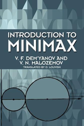 Introduction to Minimax (Dover Books on Mathematics)