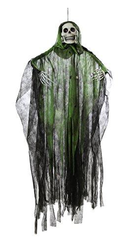 Preis am Stiel® Halloween Sensenmann, grün, animiert (Braut Animierte Halloween)