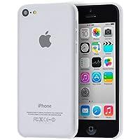 doupi UltraSlim Case per iPhone 5C satinato fine piuma facile Mat semi transparente Copertura Tacsa Custodia Caso Cover - Bianco