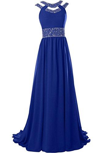 Missdressy - Robe - Plissée - Femme Bleu - Bleu royal