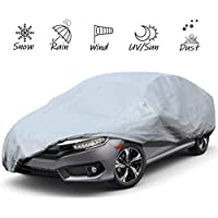 Sailnovo Car Cover Waterproof Breathable Car Guard 530 x 200 x 150cm Car Protective Cover Outdoor UV Protection Full Car Cover
