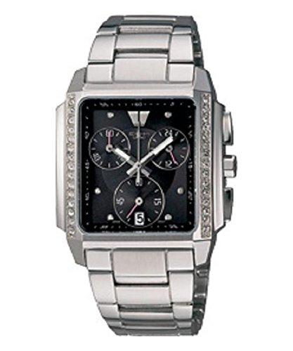 Casio Collection-Cronografo da donna, con orologio, SHEEN #SHN 5501D-1A