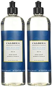 Caldrea Caldrea Liquid Dish Soap - 16 oz - Basil Blue Sage - 2 pk by Caldrea