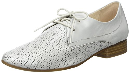 Caprice 23502, Oxford Chaussures Femme Gris (lt Grey Nappa)