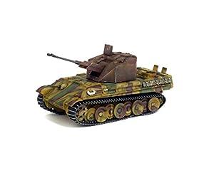 Solido-Flakpanzer-341coelian-Alemania 1945Coche de ferrocarril de Collection, 7200510, Verde/marrón