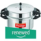 (Renewed) Prestige Popular Aluminium Pressure Cooker, 16 Litres, Silver