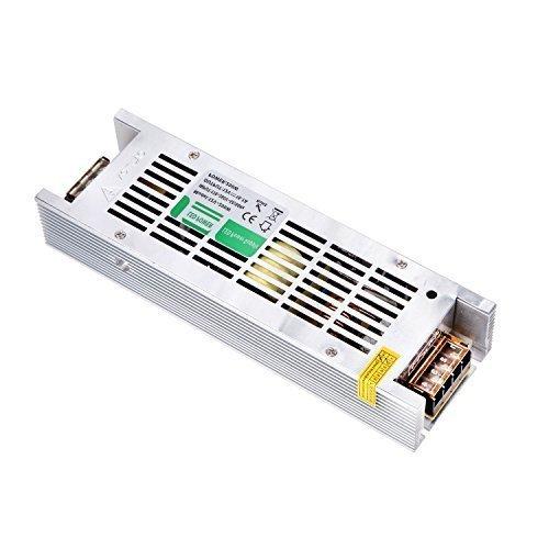 Liqoo® DC 12V 16.7A 200W Transformateur LED Trafo Driver Convertisseur Pour Ampoule MR16 MR11 et Ruban LED 12V