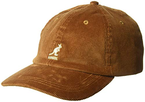 Kangol Unisex Cord Baseball Cap, Beige (Wood Wd), One Size