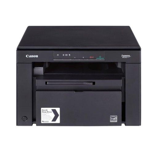 Canon i-SENSYS MF3010 - Impresora multifunción láser (B/N 18 PPM, USB 2.0, escáner), negro