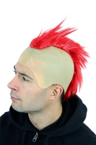 WIG ME UP ® - 4201-PC13 Peluca mujer hombre Carnaval