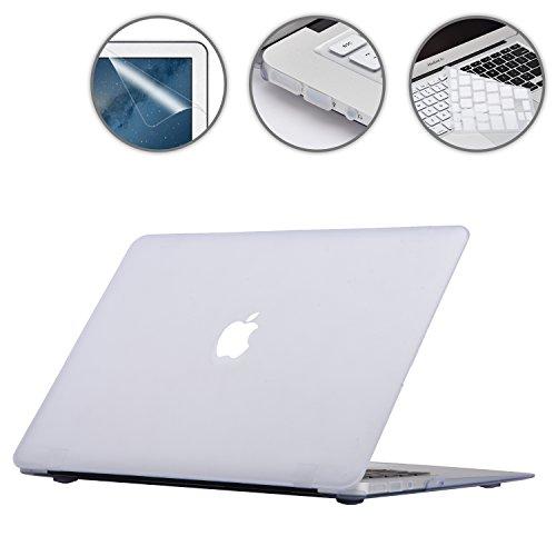 i-Buy Matte Gummierte Harte Schutzhülle Hülle für Apple Macbook Air 13