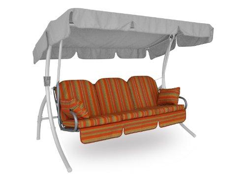 Angerer Deluxe Schaukelauflage Marokko, Terracotta, 3-Sitzer