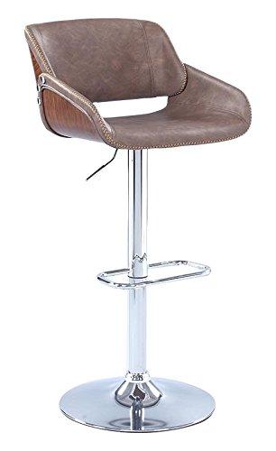 Milan rylie-as-brw Rylie gebogenem Holz Sattel Sitz mit pneumatischer Verstellbare - Rückenlehne Sattel-hocker Mit