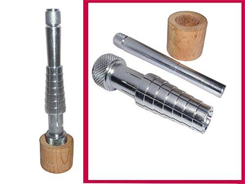Metall Ring Keilrahmen Ringmaß geliefert Enlarger Jewelry Größe Werkzeug Hochzeit Bands (Hochzeit Band Ring-sizer)