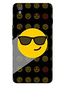 OnePlus X Back Cover - Whatsapp Emoji - Mr Swagger - Attitude And Swag - Black - Designer Printed Hard Shell Case