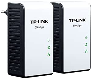 TP-Link Gigabit TL-PA511 Powerline-Netzwerkadapter (500Mbps, Gigabit LAN) 2er Set