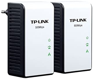 TP-LINK TL-PA511KIT - Kit de Inicio AV500 con Adaptador Powerline Gigabit, Color Blanco/Negro (B005SIN6JG) | Amazon price tracker / tracking, Amazon price history charts, Amazon price watches, Amazon price drop alerts