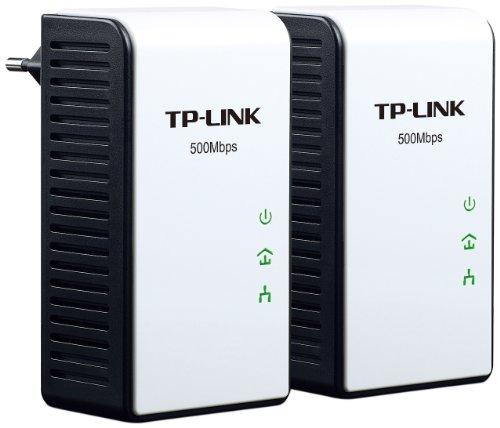 TP-Link Gigabit TL-PA511 Powerline-Netzwerkadapter (500Mbps, Gigabit LAN) 2er Set