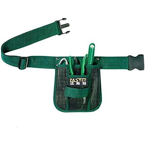 Fasite Garden Tool Kit Bag Giardinaggio Marsupio Hanging Pouch - Giardino Strumenti Carry Bag