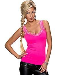 80e4b55a2da317 Best Emilie Spitze Top Sexy Damen Passform Sommer Party Fashion Weste Top  eine Größe UK 6