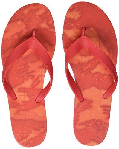 Reebok Cash Flip, Scarpe da Spiaggia e Piscina Donna, Rosso (Primal Red/Bright Lava/White), 40 EU