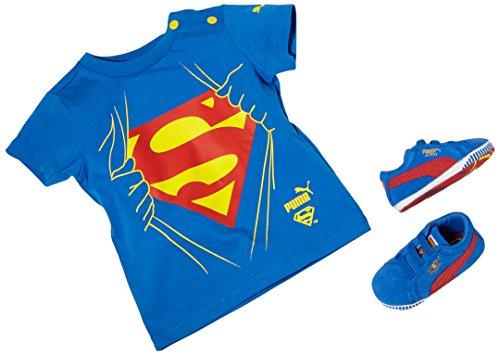 Puma Crib pack Suede Superman, Chaussures souples pour bébé (fille)