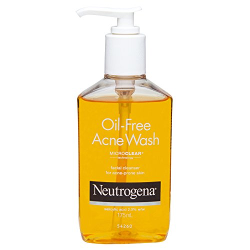 Neutrogena Oil Free Acne Face Wash, 175ml