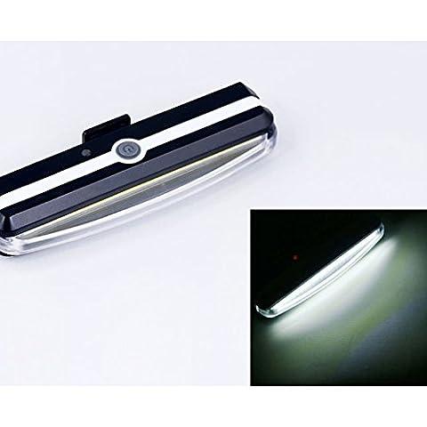 yiwa High Intensity arrière lampe de poche LED Accessoires s'adapte sur chaque Route Bikes Helme Installation facile pour vélo sécurité ultra Bright 26LED Bike lumière rechargeable USB Feu arrière de vélo