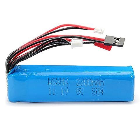 LaDicha .Wsx-So4 Remote Control Batterie Lipo 11.1 V 2200mAh Pour Futaba Kds J