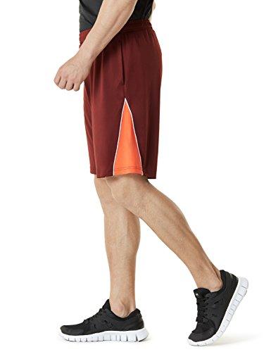 Tesla Active pantaloncini sportivi performance Hyperdri II da uomo con tasche MBS01/MBS02/MBS03 MBS03-BCK
