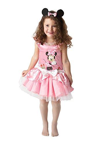 Rubie's Minnie Maus?-Kostüm mit Haarband für Mädchen - 3-4 ()