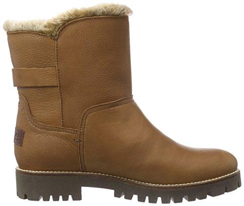 Panama Jack Tamara  Damen Warm gefüttert Kurzschaft Stiefel Halbschaft Stiefel & Stiefeletten Braun (Brown)