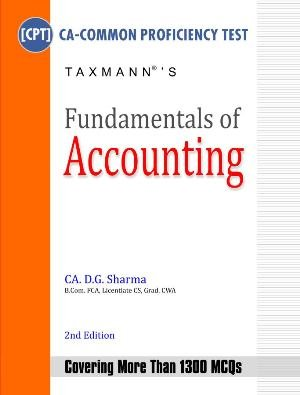 Fundamentals of Accounting (CA CPT)