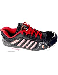 Generic Red And Black Sport Shoes And Red No And Failon Sole For Man