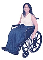 Fleece lined wheelchair cozy leg cover cosy wrap