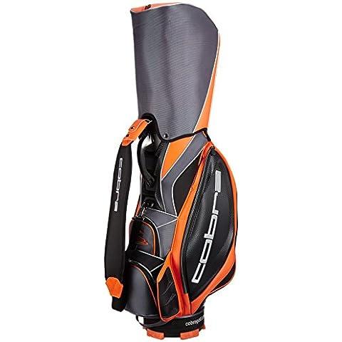 Cobra Golf 2015 Fly Z Tour Staff Bag Zaino, 6 scomparti divisori, 10 tasche, colore: nero