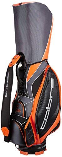 Cobra Staff Tour Bag Cartbag Golfbag black orange Puma 909112 01, Farben:noir