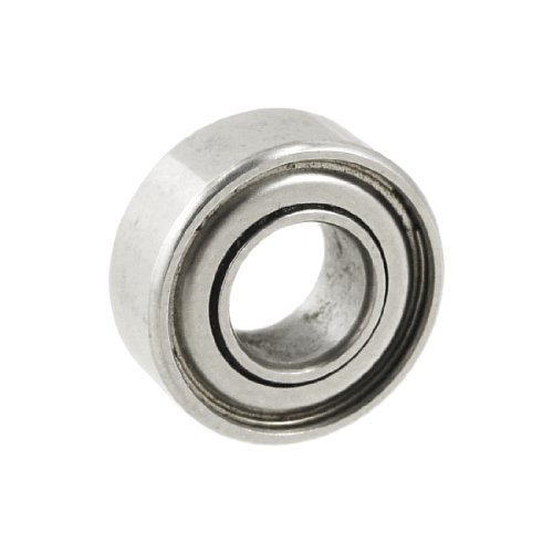 13mm x 5mm x 4mm geschützt radial Mini Metall Kugellager Lager Rillenlager (Lager-metall-körper)