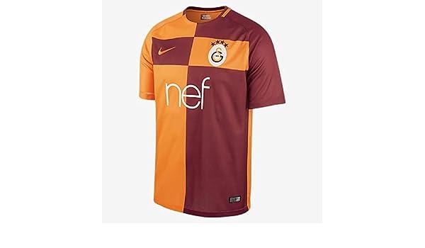 2017-2018 Galatasaray Home Nike Football Shirt  Amazon.co.uk  Sports    Outdoors f0f09d3b9