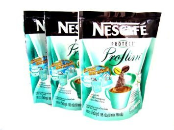 Price comparison product image 3 Nescafe Protect Proslim Pro Slim Diet Slimming Weight Control Coffee 10 Sticks Made in Thailand +Free Shipping World Wide