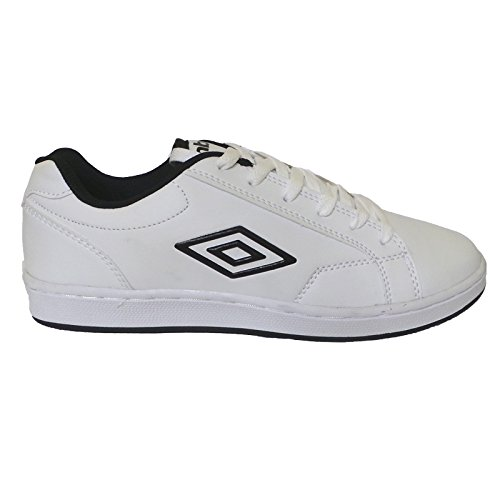 Umbro Scarpe Uomo Medway 40202U 096 White/Black,simil stan smith (45)