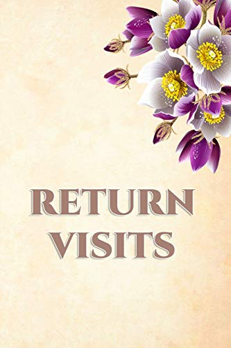 Return Visits: | JW Organizer for Jehovah's Witnesses  Add this valuable JW  Accessories to your JW Library  A PERFECT Jehovahs Witnesses Gift! V9