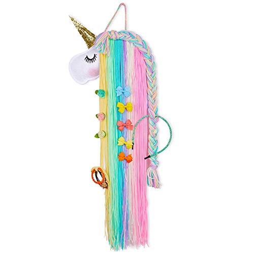 Basumee Unicorn Hair Clip Organi...