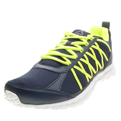 Reebok Bd5443, Sneakers trail-running homme Bleu (Collegiate Navy/solar Yellow/white/pewte)