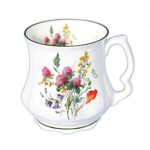 david-michael-della-nonna-grande-caffe-tazza-di-te-con-fiori-di-campo-bouquet