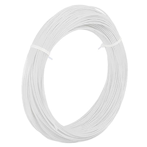 Generic 10M ABS 3D Printer Filament 1.75MM For 3D Printer Pen Doodle - White  available at amazon for Rs.210