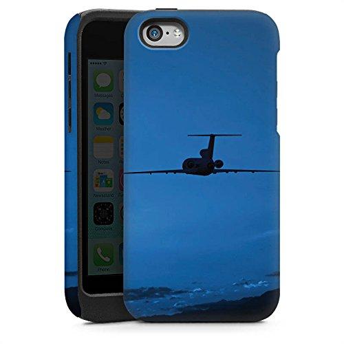 Apple iPhone 6 Housse Étui Silicone Coque Protection Avion mouches Ciel Cas Tough brillant