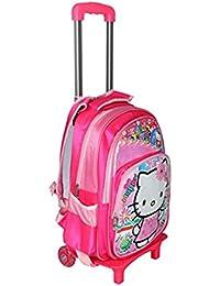 GOCART Fabric 42 Cms Pink Softsided Children's Luggage