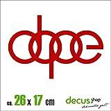 DOPE XL 1363 // Sticker OEM JDM Style Aufkleber (Rot)