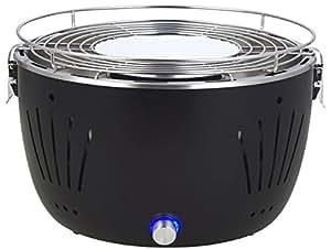 Rauchfreier Tisch Holzkohlegrill : Durandal holzkohlegrill mit aktivbelüftung rauchfreier
